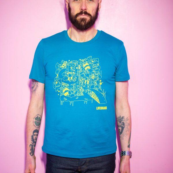Heshty Illustration X Lifeshare T-Shirt