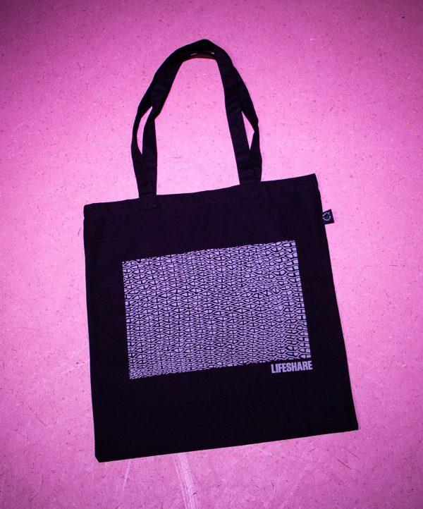 Dave Draws X Lifeshare Tote Bag