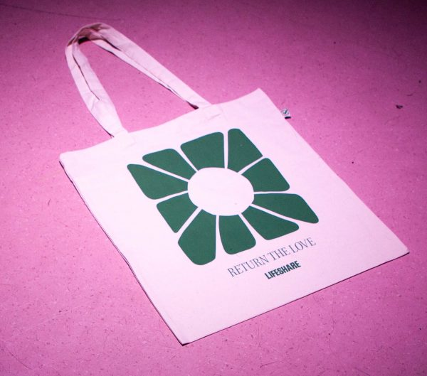 Han Valentine X Lifeshare Tote Bag