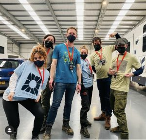 Peaky Blinders Crew Supports Lifeshare